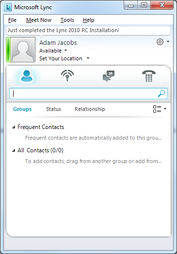 Step-by-step Microsoft Lync 2010 Consolidated Standard Server ...