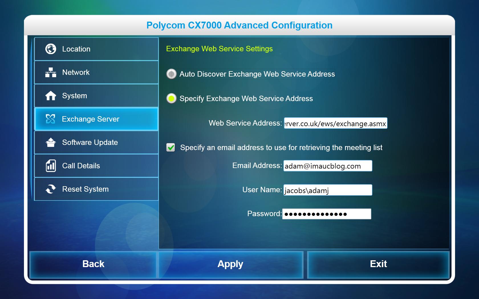 Understanding the Polycom CX7000 1 1 Update   I'm a UC Blog